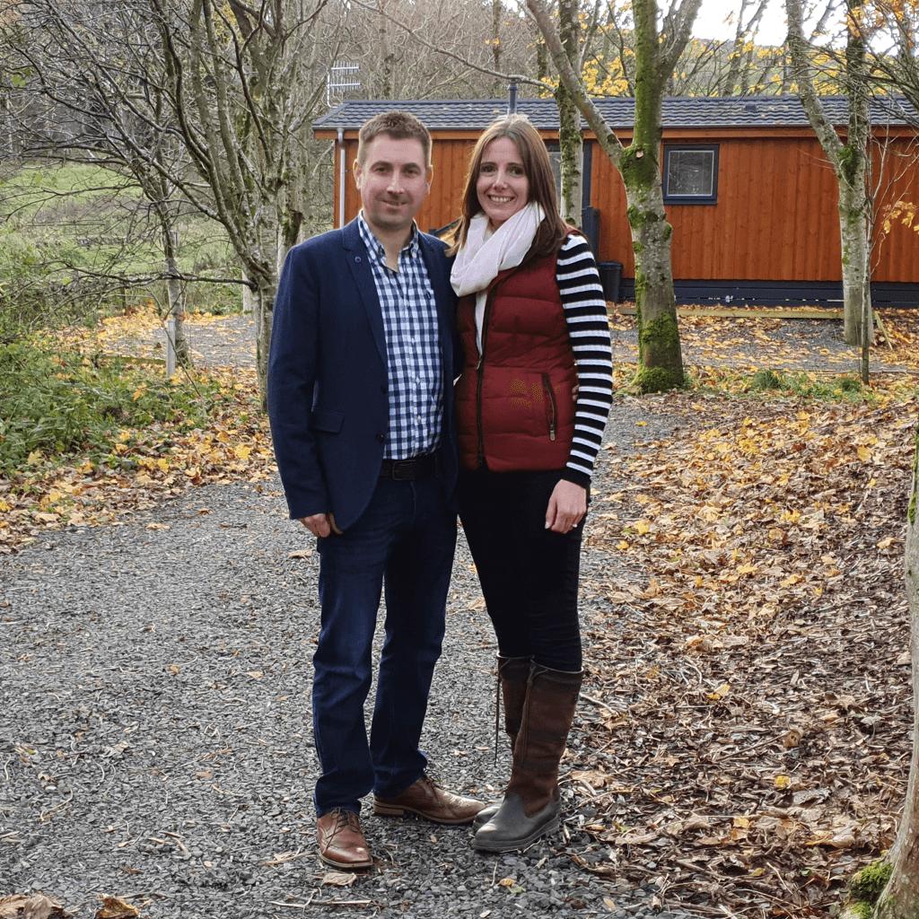 TravelNest customers - Richard and Alison