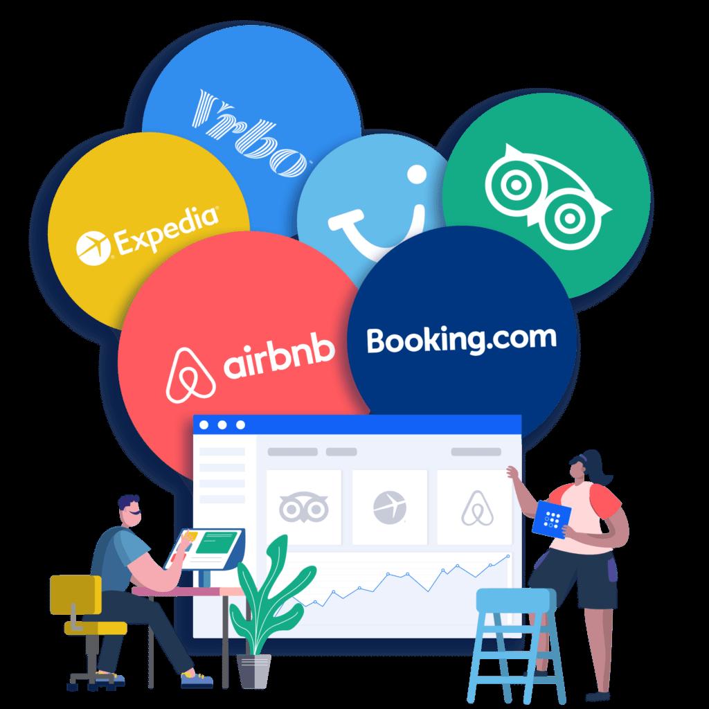 TravelNest booking channels